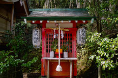Poco shrine Fotografía de archivo libre de regalías