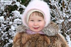 Poco sonríe Foto de archivo libre de regalías