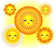 Poco Sun Imágenes de archivo libres de regalías