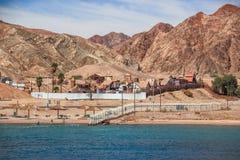 Poco Texas in Eilat sul Mar Rosso Fotografia Stock