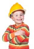 Poco trabajador de construcción Imagen de archivo