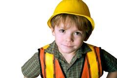 Poco trabajador de construcción Fotografía de archivo libre de regalías