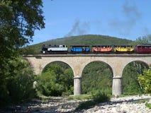 Poco treno di Anduze Fotografia Stock