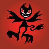Poco vector del diablo de la Navidad libre illustration