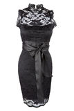 Poco vestido negro Imágenes de archivo libres de regalías