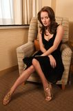 Poco vestido negro Imagen de archivo libre de regalías