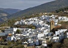 Poco villaggio del Moorish nel Alpujarra Immagine Stock