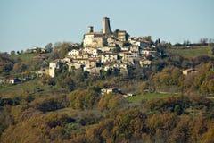 Poco villaggio di Castelfranco immagine stock libera da diritti