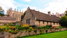 Poco villaggio in Inghilterra Immagini Stock Libere da Diritti