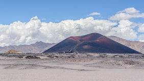 Poco vulcano Fotografie Stock Libere da Diritti