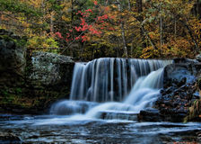 Poconos waterfall Royalty Free Stock Photos