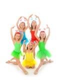 pocos bailarines de ballet Fotografía de archivo libre de regalías