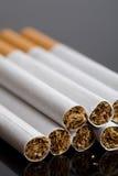 Pocos cigarrillos Foto de archivo libre de regalías