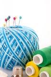 Pocos contactos en bola de las lanas fotografía de archivo libre de regalías