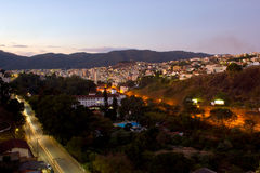 Pocos de Caldas city Royalty Free Stock Photography