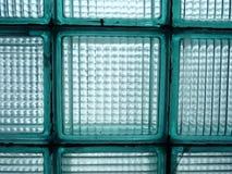 Pocos ladrillos de cristal Foto de archivo