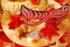 Pocos segundos al Año Nuevo Foto de archivo libre de regalías