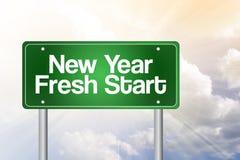 początek świeży nowy rok ilustracja wektor
