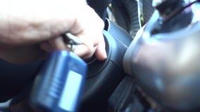 Początek silnik samochód zdjęcie wideo