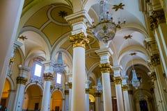 Początkowa katedra Bogota lokalizował w bolivarze Fotografia Royalty Free