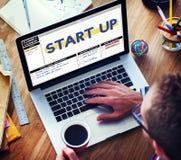 Początkowego planu biznesowego wodowanie Nowy Biznesowy pojęcie Obraz Stock