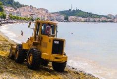 Początkowy ładowacz Na Seashore Zdjęcie Royalty Free