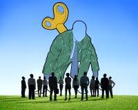Początkowy Biznesowy Aktywacyjny wyzwanie Meandruje up pojęcie zdjęcie royalty free
