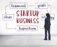 Początkowy Biznesowy przedsiębiorczość pomysłów pojęcie Zdjęcie Royalty Free