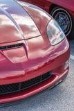 Początkowy widok Amerykański sporta samochód Obrazy Stock
