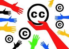 Poczęć Kreatywnie błonia CC Obraz Stock