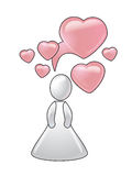poczęcia pomysłów miłość Zdjęcie Stock