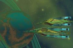 początek planeta Zdjęcie Royalty Free