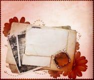 pocztówek sterty szablon Royalty Ilustracja
