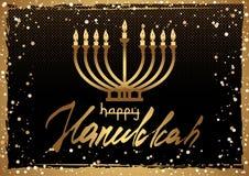 Pocztówka dla festiwalu świateł Hanukkah