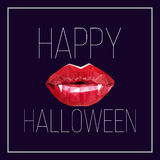 Pocztówka dla Halloween Zdjęcia Stock