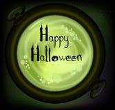 Pocztówka na Halloween. Obrazy Stock
