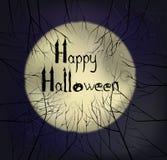 Pocztówka na Halloween Obraz Stock