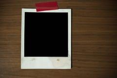 Pocztówka natychmiastowa kamera Zdjęcia Royalty Free