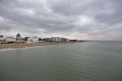Pocztówka od morza, UK wybrzeże Obraz Stock