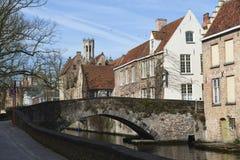 Pocztówki Bruges Obraz Stock