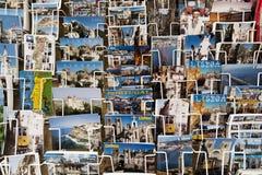 Pocztówki expositor Fotografia Stock