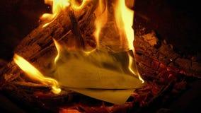 Pocztówki Rzucają W ogienia - Rodzajowa zawartość zdjęcie wideo