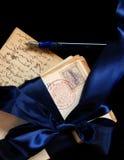 pocztówki sterta Zdjęcie Royalty Free