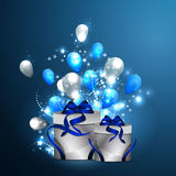 Pocztówki urodzinowe Zdjęcie Stock