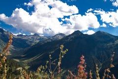 pocztówkowi gór pirineos Obrazy Royalty Free