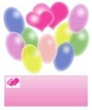 pocztówkowi valentines Obraz Stock