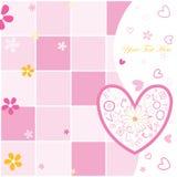 pocztówkowy dzień valentine s royalty ilustracja