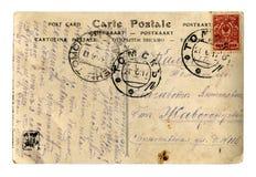 pocztówkowy rocznik Zdjęcie Stock