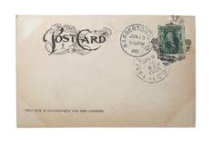 pocztówkowy rocznik Obrazy Stock