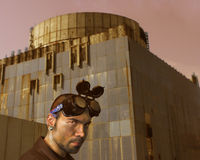 poczta apokaliptyczny podróżnik Fotografia Stock